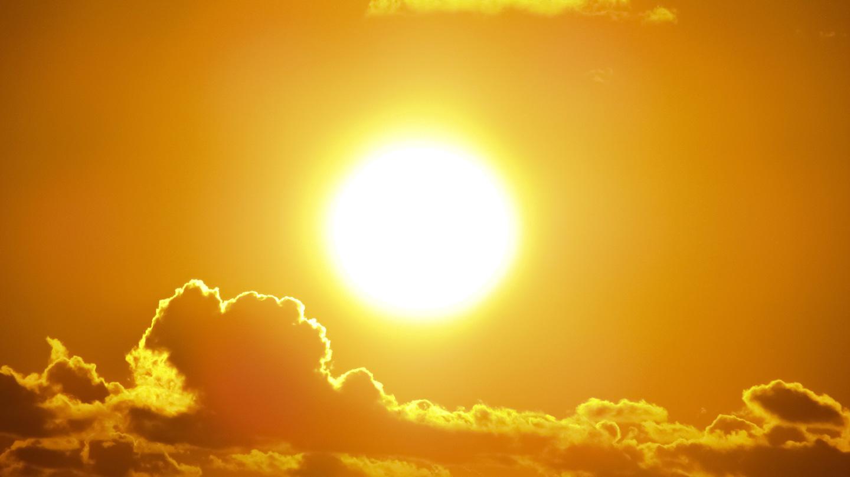 Soleil brillant fort